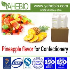 Pineapple flavor for confectionery